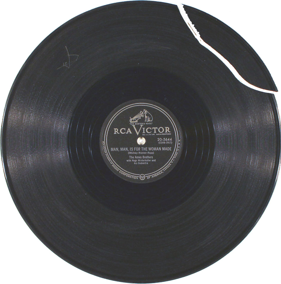 """The Ames Brothers Vinyl 10"""" (Used)"""