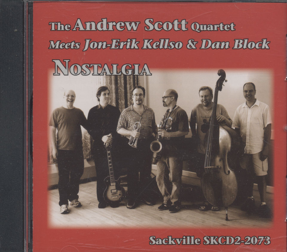 The Andrew Scott Quartet CD