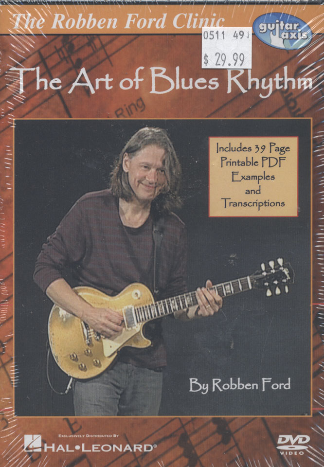 The Art of Blues Rhythm DVD