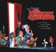 The Art of Mr. Peabody and Sherman Book
