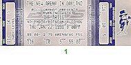 The Artist Vintage Ticket
