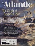 The Atlantic Magazine November 2001 Magazine