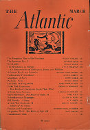 The Atlantic Monthly Vol. 151 No. 3 Magazine