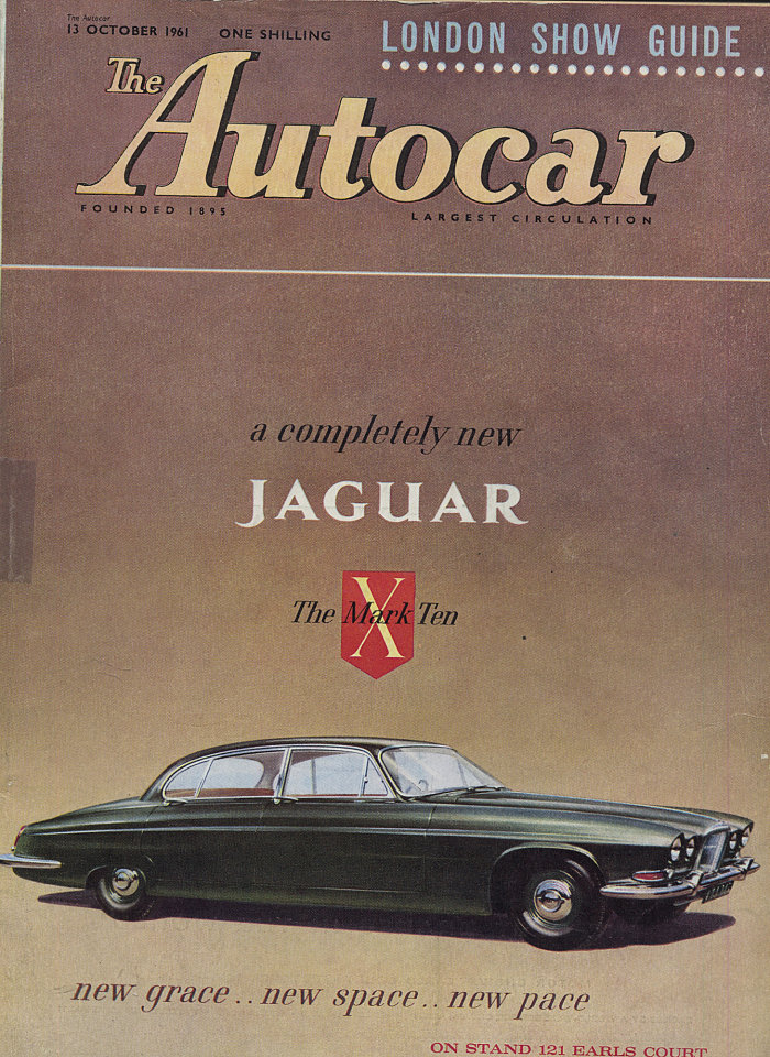 The Autocar Magazine, Oct 13, 1961 at Wolfgang\'s