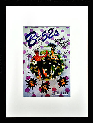 The B-52's Framed Poster