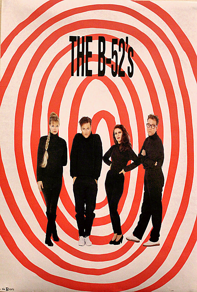 The B52's Poster