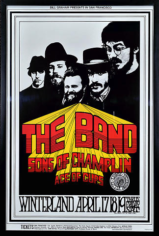 The Band Framed Poster