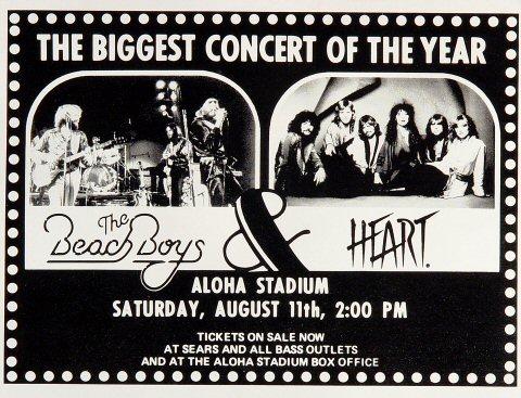 The Beach Boys Handbill