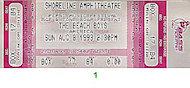 The Beach Boys Vintage Ticket