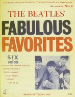 The Beatles' Fabulous Favorites No. 2 Book