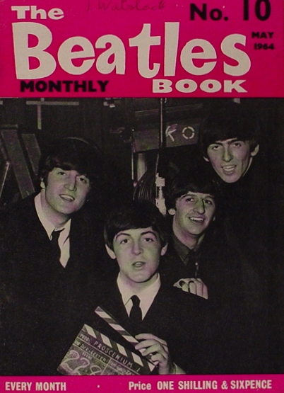 The Beatles No. 10 Magazine