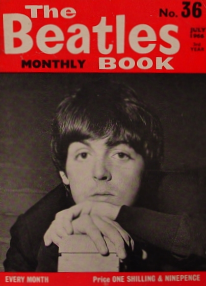 The Beatles No. 36 Magazine