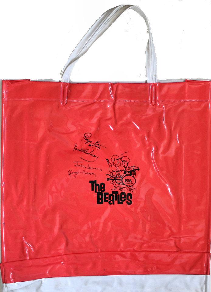The Beatles Bag reverse side