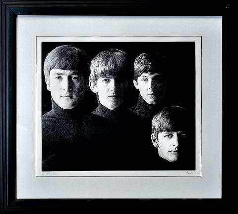 The Beatles Framed Fine Art Print