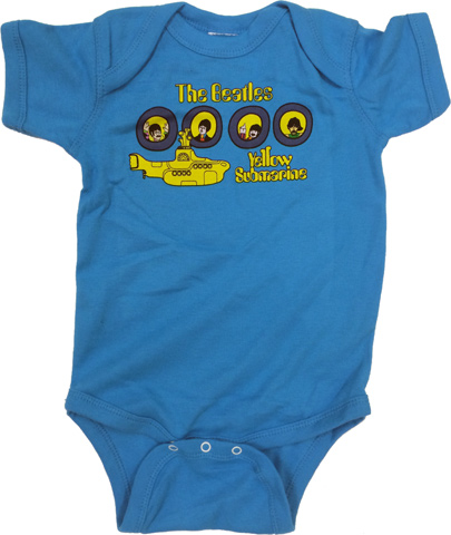 The Beatles Infant Onesie