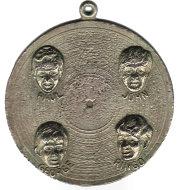 The Beatles Keychain