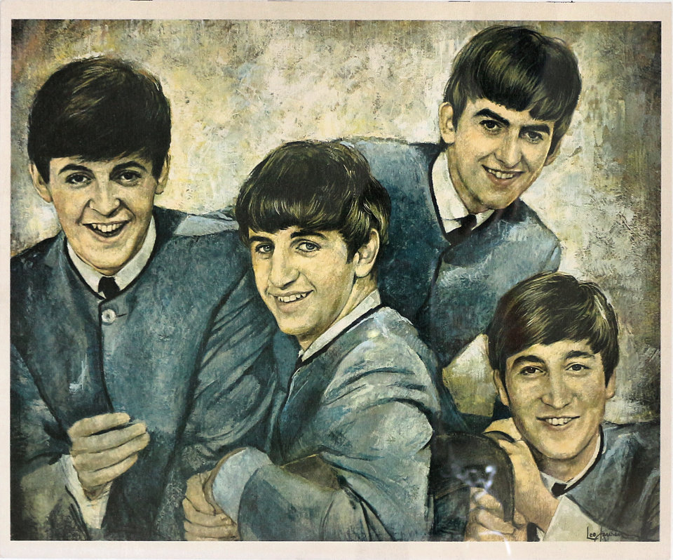 The Beatles Poster 1960 At Wolfgangs