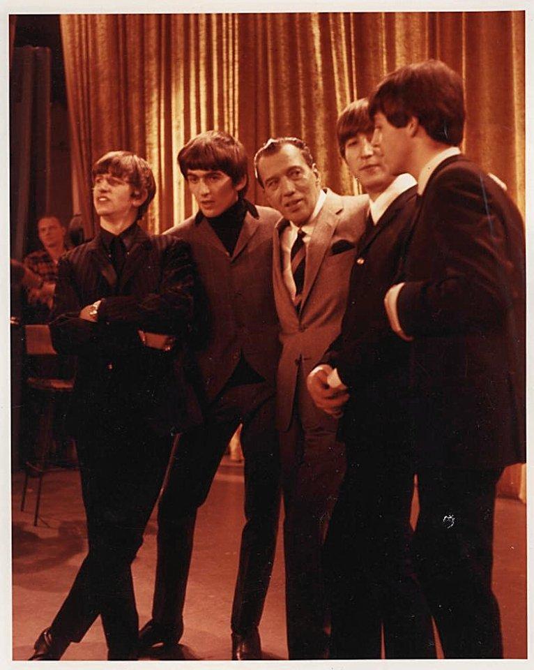 The Beatles Vintage Print