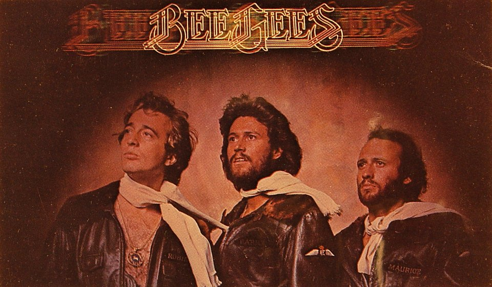 The Bee Gees Postcard