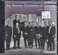 The Benson Orchestra of Chicago CD