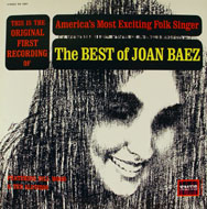 "The Best Of Joan Baez Vinyl 12"" (Used)"