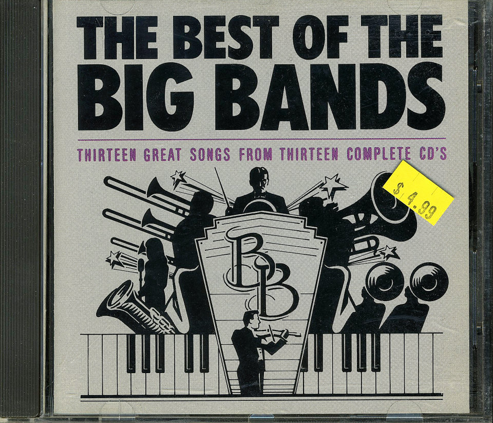 The Best of the Big Bands CD