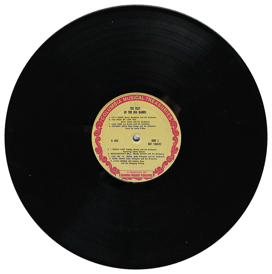 """The Best Of The Big Bands Vinyl 12"""" (Used)"""