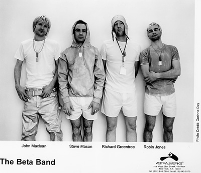 The Beta Band Promo Print