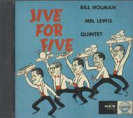 The Bill Holman / Mel Lewis Quintet CD