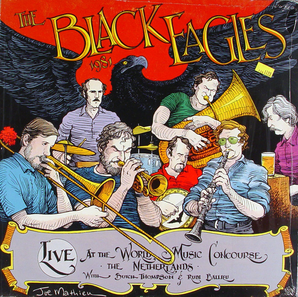 "The Black Eagles Vinyl 12"" (New)"