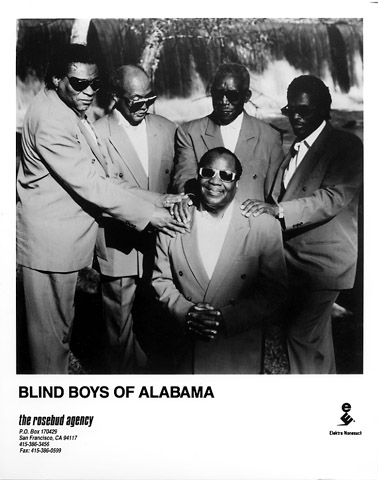 The Blind Boys of Alabama Promo Print