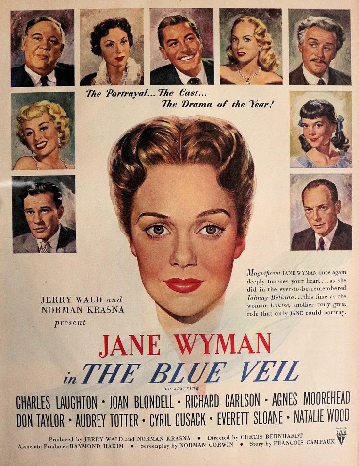 The Blue Veil Vintage Ad