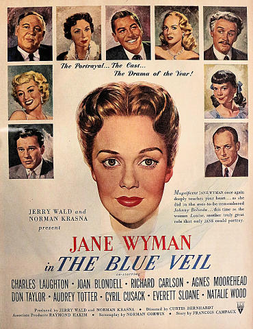 The Blue Veil Vintage Ad