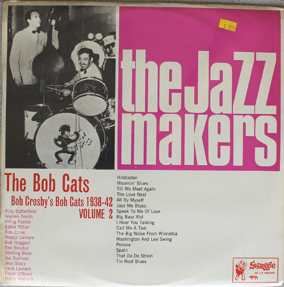 """The Bob Cats Vinyl 12"""" (New)"""