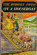 The Bobbsey Twins on a Houseboat Book
