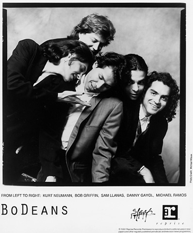 The BoDeans Promo Print