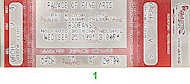 The BoDeans Vintage Ticket