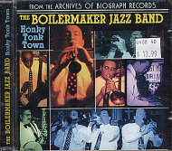 The Boilermaker Jazz Band CD