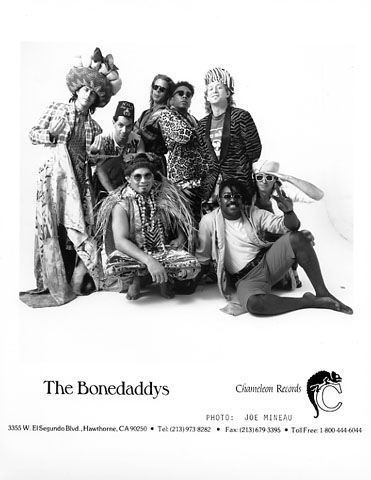 The Bonedaddys Promo Print
