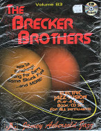 The Brecker Brothers Volume 83 Book