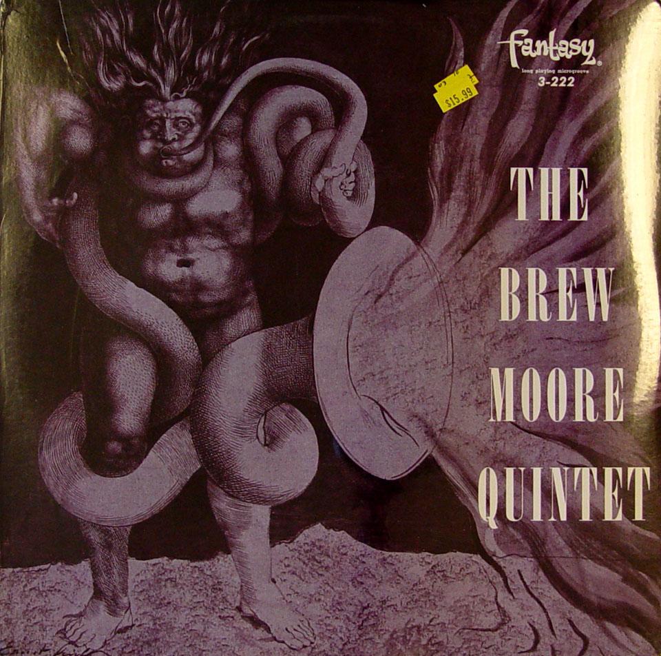 """The Brew Moore Quintet Vinyl 12"""" (New)"""