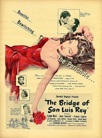 The Bridge Of San Luis Rey Vintage Ad