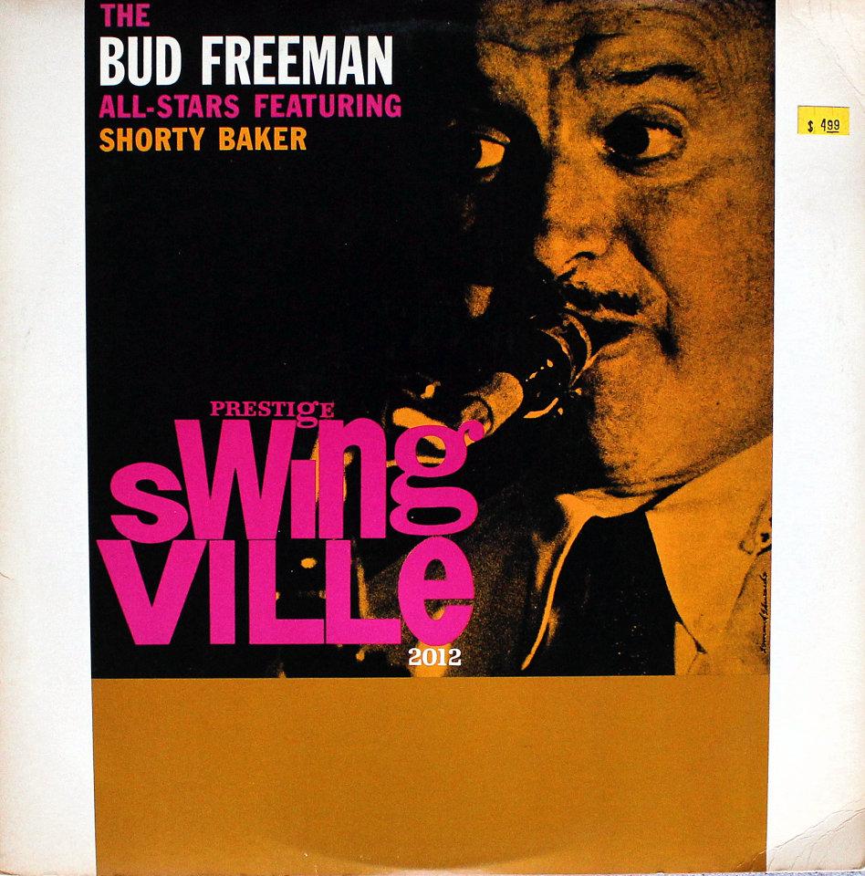 """The Bud Freeman All-Stars Vinyl 12"""" (Used)"""