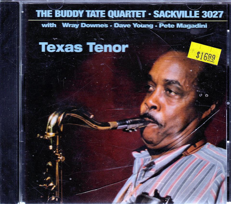 The Buddy Tate Quartet CD