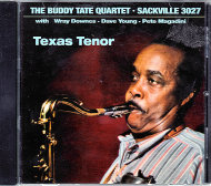 The Buddy Tate Quartet CD