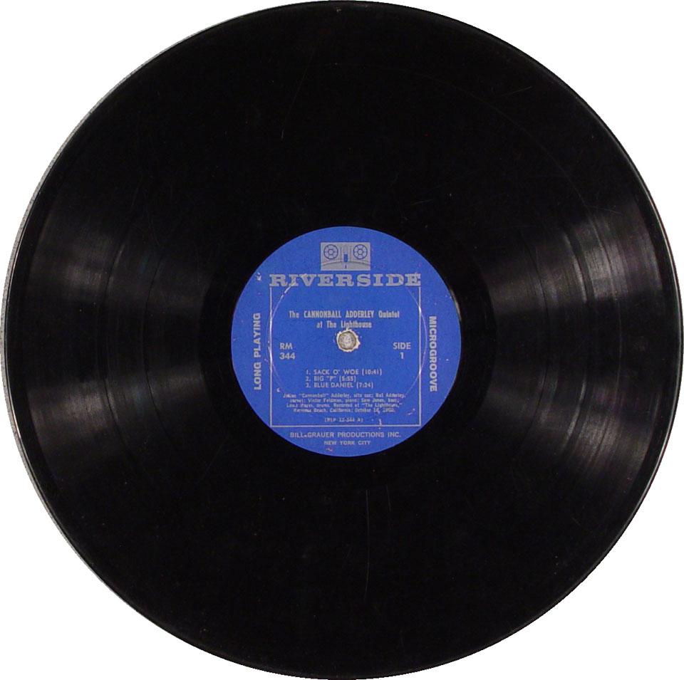 "The Cannonball Adderley Quintet Vinyl 12"" (Used)"