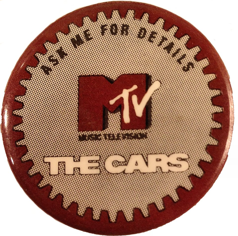 The Cars Pin