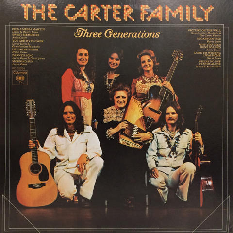 "The Carter Family Vinyl 12"" (Used)"