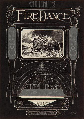 The Charlatans Handbill