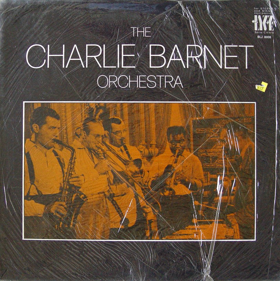 "The Charlie Barnet Orchestra Vinyl 12"" (New)"